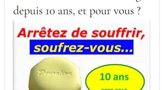 sondage pierre de soufre Le Deucalion