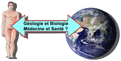 La Chimie Naturelle du Corps Humain explique les clés de la vie sur Terre. Les liens entre Géologie et Biologie.