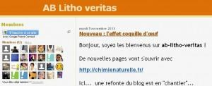 Chimie Naturelle - blog ab litho veritas