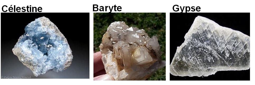 Chimie_naturelle - le soufre et les minéraux sulfates les plus connus